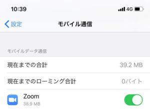 Zoom通信量パターン2