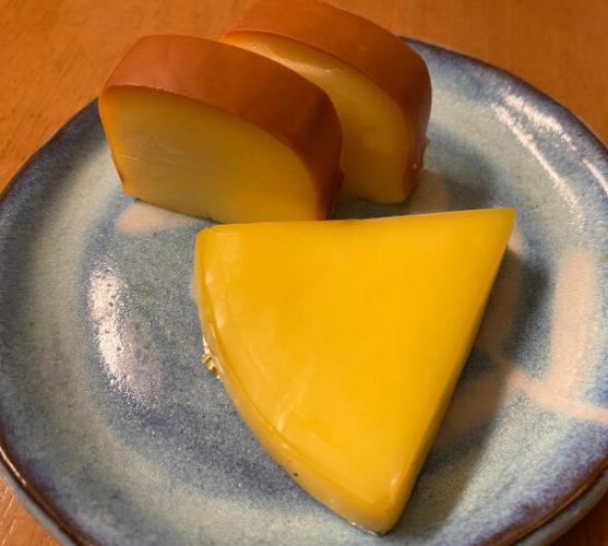 燻製チーズの出来上がり
