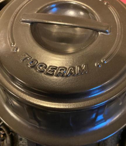 TOCERAMニューセラミックス製燻製鍋の外観