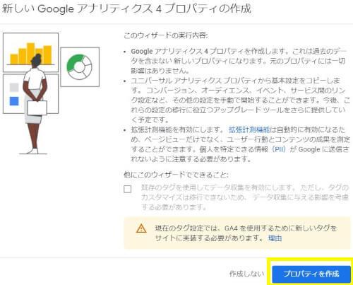 Googleアナリティクス4(GA4)プロパティへのアップデート